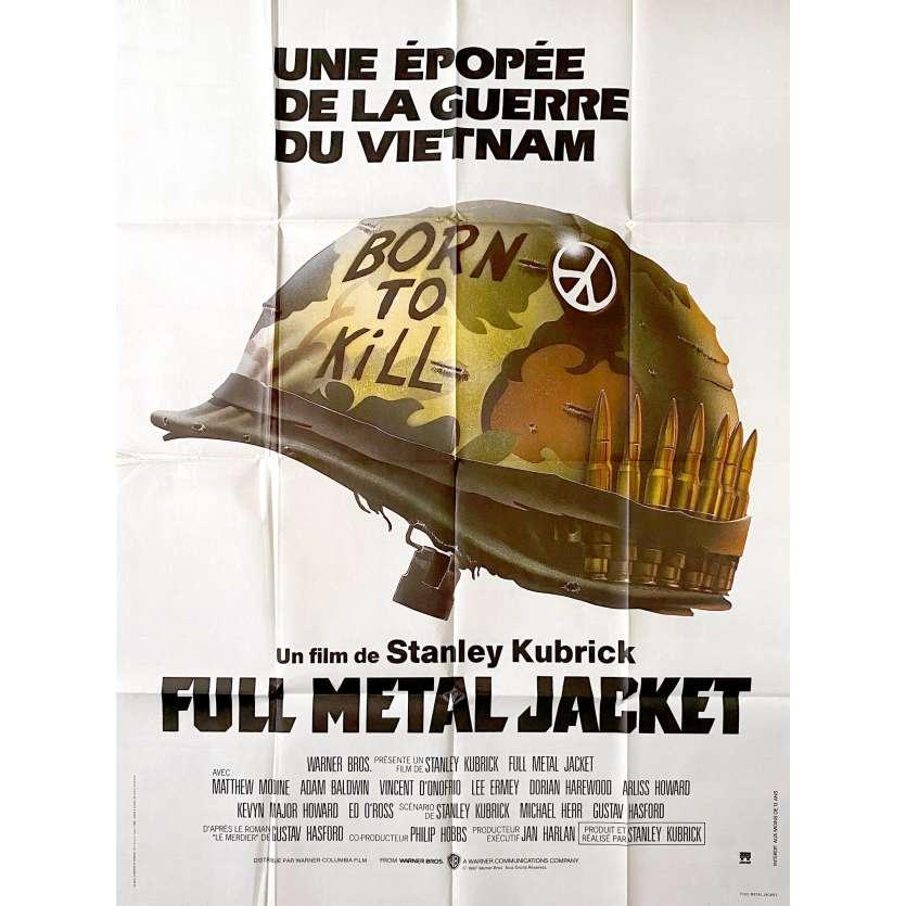 FULL METAL JACKET Affiche de film120x160 - 1987 - Matthew Modine, Stanley Kubrick
