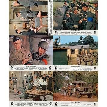 LES 12 SALOPARDS Photos de film x6 21x30 - 1967 - Lee Marvin, Charles Bronson