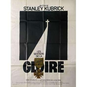 LES SENTIERS DE LA GLOIRE Affiche de film- 120x160 cm. - 1957 - Kirk Douglas, Stanley Kubrick