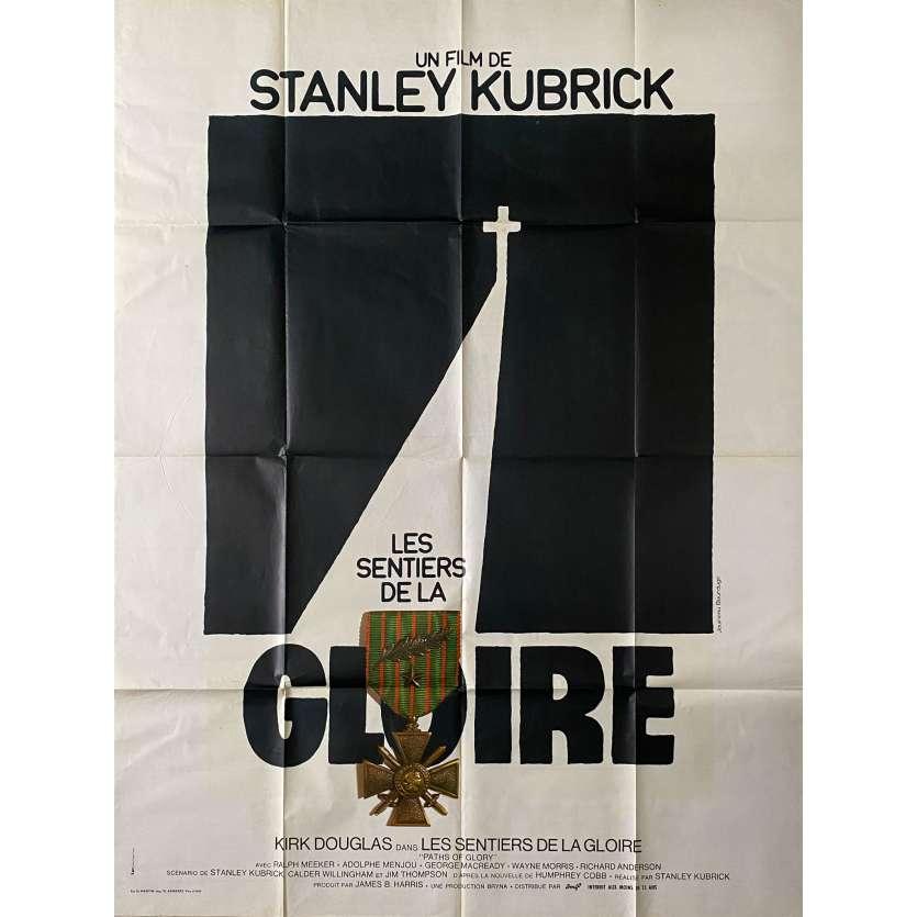 PATH OF GLORY Movie Poster - 47x63 in. - 1957 - Stanley Kubrick, Kirk Douglas