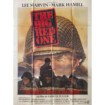 THE BIG RED ONE Original Movie Poster- 47x63 in. - 1980 - Samuel Fuller, Lee Marvin