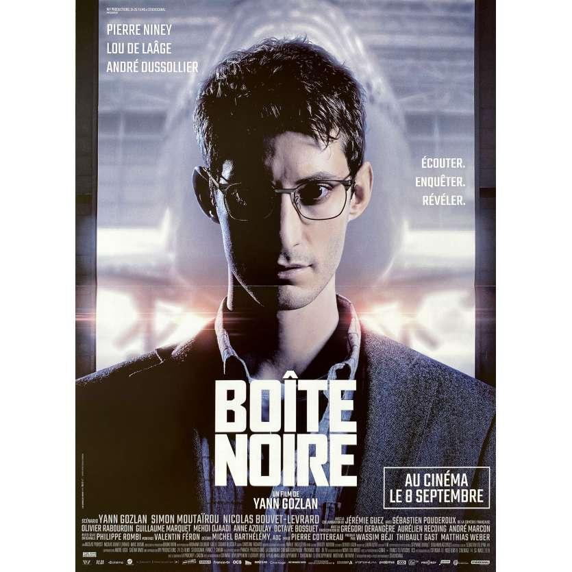 LA BOITE NOIRE Affiche de film- 40x60 cm. - 2021 - Pierre Niney, Yann Gozlan