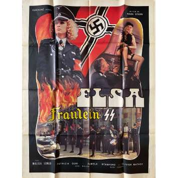 FRAULEIN KITTY Original Movie Poster- 47x63 in. - 1977 - Patrice Rhomm, Malisa Longo