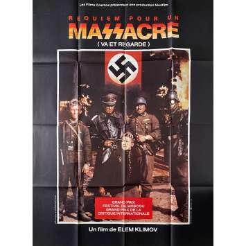 REQUIEM POUR UN MASSACRE Affiche de film- 120x160 cm. - 1985 - Aleksey Kravchenko, Elem Klimov