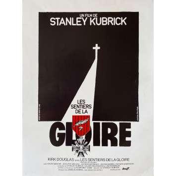 LES SENTIERS DE LA GLOIRE Synopsis- 21x30 cm. - 1975 - Kirk Douglas, Stanley Kubrick