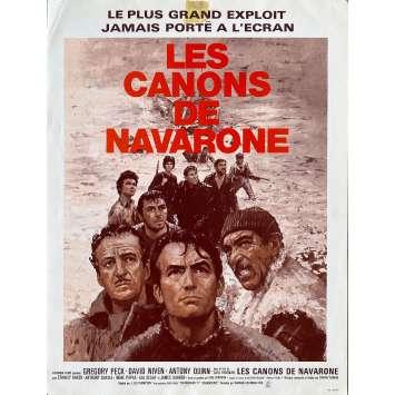 LES CANONS DE NAVARONE Synopsis- 21x30 cm. - 1961 - Gregory Peck, Anthony Quinn, J. Lee Thompson