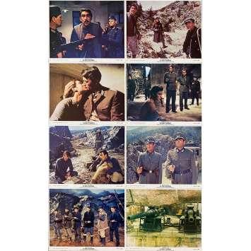 LES CANONS DE NAVARONE Photos de film x8 - 20x25 cm. - 1961 - Gregory Peck, Anthony Quinn, J. Lee Thompson