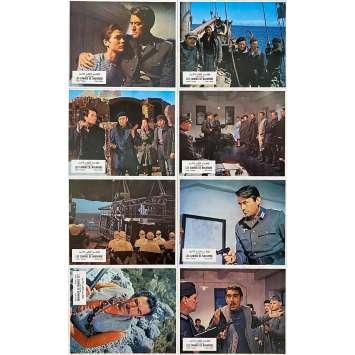 LES CANONS DE NAVARONE Photos de film x8 - 21x30 cm. - 1961 - Gregory Peck, Anthony Quinn, J. Lee Thompson