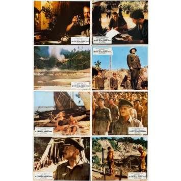 LE PONT DE LA RIVIERE KWAI Photos de film x8 - Jeu B - 21x30 cm. - R1970 - William Holden, David Lean