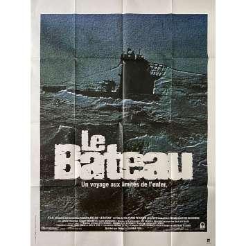 LE BATEAU Affiche de film- 120x160 cm. - 1981 - Jürgen Prochnov, Wolfgang Petersen