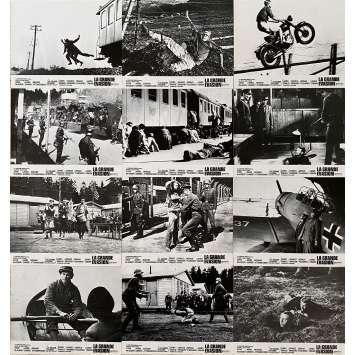 THE GREAT ESCAPE Original Lobby Cards x12 - Set A & B - 9x12 in. - 1963 - John Sturges, Steve McQueen