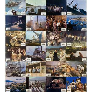 THE SAND PEBBLES Original Lobby Cards x24 - 9x12 in. - 1966 - Robert Wise, Steve McQueen