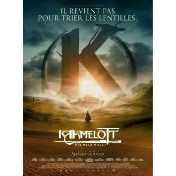 KAAMELOTT Original Movie Poster Def. - 15x21 in. - 2021 - Alexandre Astier, Sting