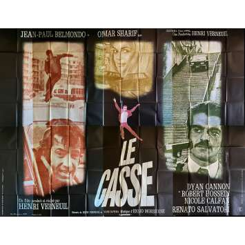 LE CASSE Affiche de film- 400x300 cm. - 1971 - Jean-Paul Belmondo, Henri Verneuil