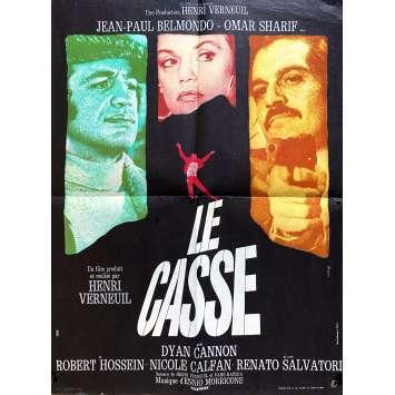 THE BURGLARS Original Movie Poster- 15x21 in. - 1971 - Henri Verneuil, Jean-Paul Belmondo