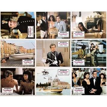 LE GUIGNOLO Photos de film x9 - 21x30 cm. - 1980 - Jean-Paul Belmondo, Georges Lautner