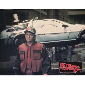 BACK TO THE FUTURE II Original Lobby Card N02 - 9x12 in. - 1989 - Robert Zemeckis, Michael J. Fox