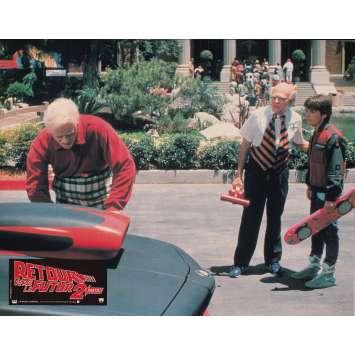BACK TO THE FUTURE II Original Lobby Card N03 - 9x12 in. - 1989 - Robert Zemeckis, Michael J. Fox
