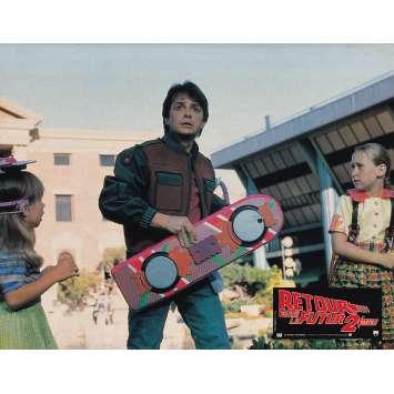 BACK TO THE FUTURE II Original Lobby Card N06 - 9x12 in. - 1989 - Robert Zemeckis, Michael J. Fox