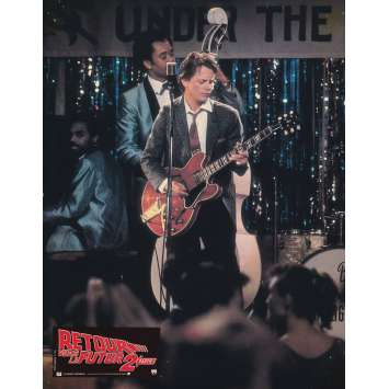 BACK TO THE FUTURE II Original Lobby Card N07 - 9x12 in. - 1989 - Robert Zemeckis, Michael J. Fox