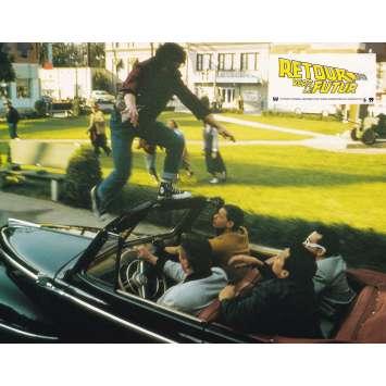 RETOUR VERS LE FUTUR Photo de film N01 - 21x30 cm. - 1985 - Michael J. Fox, Robert Zemeckis