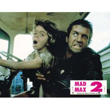 MAD MAX 2: THE ROAD WARRIOR Original Lobby Card N01 - 9x12 in. - 1982 - George Miller, Mel Gibson