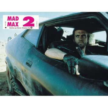 MAD MAX 2: THE ROAD WARRIOR Original Lobby Card N02 - 9x12 in. - 1982 - George Miller, Mel Gibson