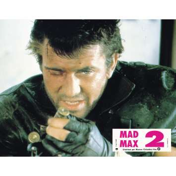 MAD MAX 2: THE ROAD WARRIOR Original Lobby Card N03 - 9x12 in. - 1982 - George Miller, Mel Gibson