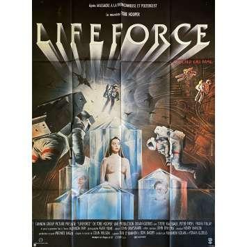 LIFEFORCE Original Movie Poster- 47x63 in. - 1985 - Tobe Hooper, Mathilda May