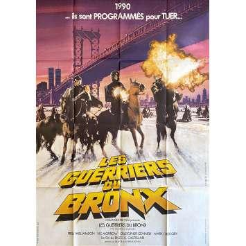 1990: THE BRONX WARRIORS Original Movie Poster- 47x63 in. - 1982 - Enzo G. Castellari, Mark Gregory