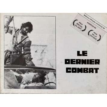 LE DERNIER COMBAT Dossier de presse 10 pages. - 18x24 cm. - 1983 - Jean Reno, Luc Besson