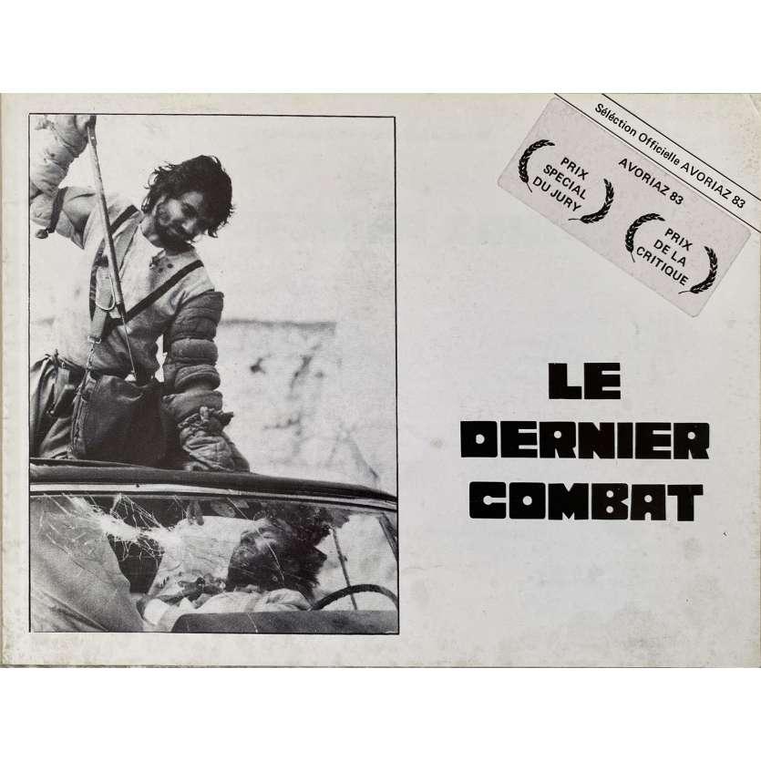 THE LAST BATTLE Original Pressbook 10 pages. - 7x9 in. - 1983 - Luc Besson, Jean Reno