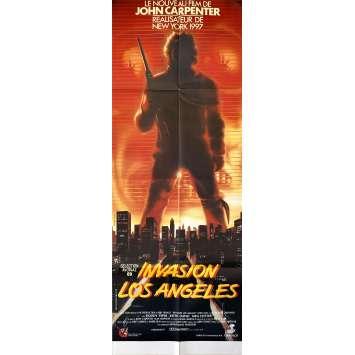 THEY LIVE Original Movie Poster- 23x63 in. - 1988 - John Carpenter, Roddy Piper