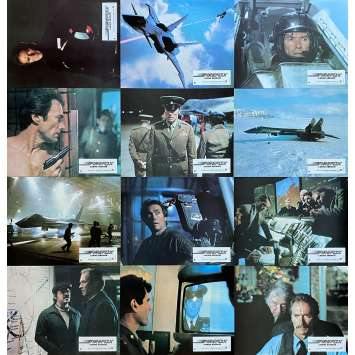 FIREFOX Original Lobby Cards x12 - 9x12 in. - 1982 - Clint Eastwood, Clint Eastwood