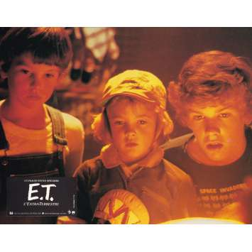 E.T. THE EXTRA-TERRESTRIAL Original Lobby Card N08 - 9x12 in. - 1982 - Steven Spielberg, Dee Wallace