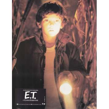 E.T. THE EXTRA-TERRESTRIAL Original Lobby Card N12 - 9x12 in. - 1982 - Steven Spielberg, Dee Wallace