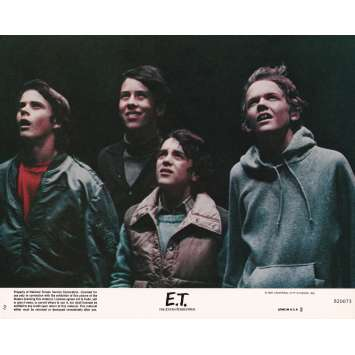 E.T. THE EXTRA-TERRESTRIAL Original Lobby Card N02 - 8x10 in. - 1982 - Steven Spielberg, Dee Wallace