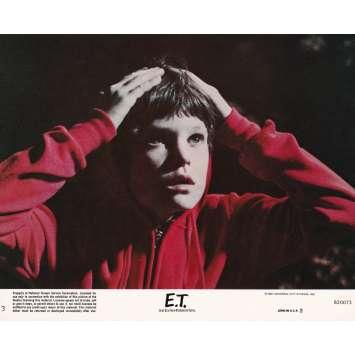 E.T. THE EXTRA-TERRESTRIAL Original Lobby Card N03 - 8x10 in. - 1982 - Steven Spielberg, Dee Wallace