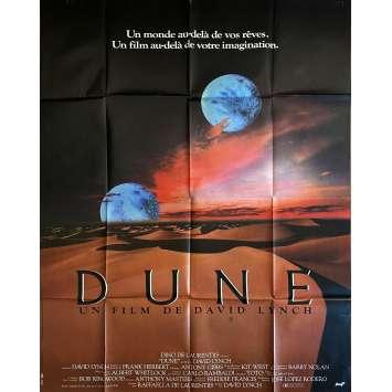 DUNE Original Movie Poster- 47x63 in. - 1982 - David Lynch, Kyle McLachlan