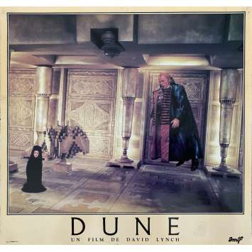 DUNE Original Lobby Card N07 - 12x15 in. - 1982 - David Lynch, Kyle McLachlan