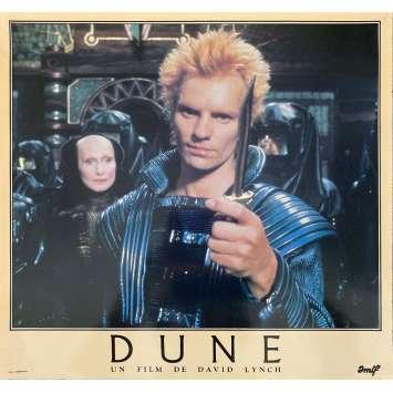 DUNE Original Lobby Card N10 - 12x15 in. - 1982 - David Lynch, Kyle McLachlan