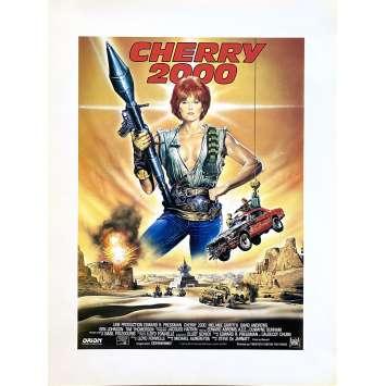 CHERRY 2000 Original Herald- 9x12 in. - 1987 - Steve De Jarnatt, Melanie Griffith