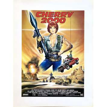 CHERRY 2000 Synopsis- 21x30 cm. - 1987 - Melanie Griffith, Steve De Jarnatt