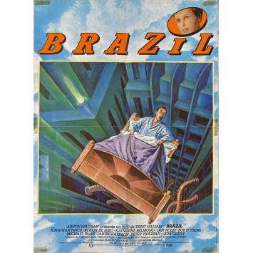 BRAZIL Original Movie Poster- 15x21 in. - 1985 - Terry Gilliam, Jonathan Pryce