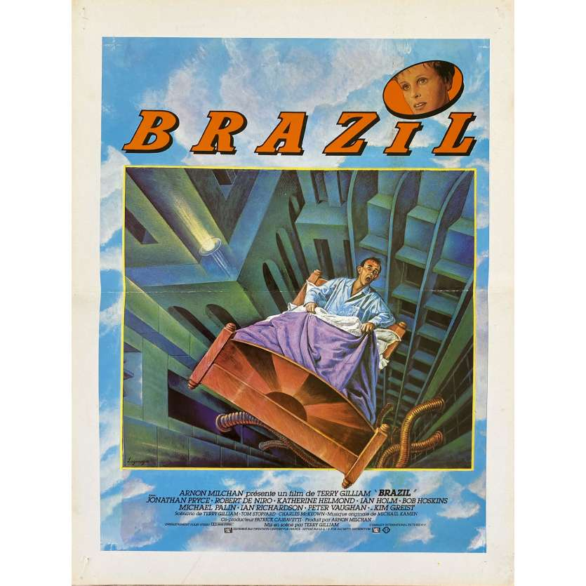 BRAZIL Synopsis- 21x30 cm. - 1985 - Jonathan Pryce, Terry Gilliam