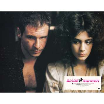 BLADE RUNNER Original Lobby Card N02 - 9x12 in. - 1982 - Ridley Scott, Harrison Ford