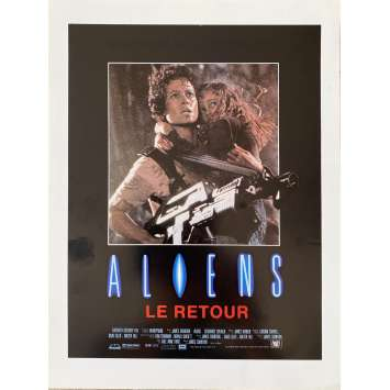 ALIENS Original Herald- 9x12 in. - 1986 - James Cameron, Sigourney Weaver