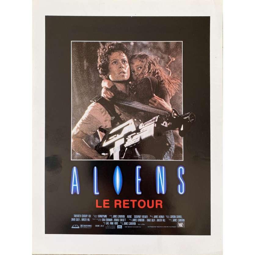 ALIENS Synopsis- 21x30 cm. - 1986 - Sigourney Weaver, James Cameron