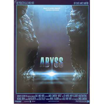 THE ABYSS Original Herald- 9x12 in. - 1989 - James Cameron, Ed Harris