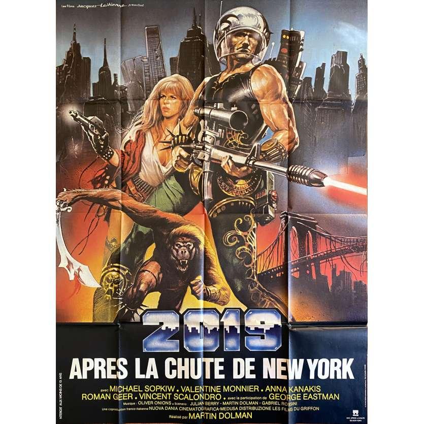 2019 APRES LA CHUTE DE NEW YORK Affiche de film- 120x160 cm. - 1983 - George Eastman, Sergio Martino